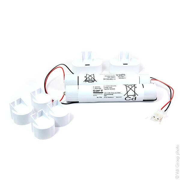 Batterie Per Lampade Di Emergenza Ova.Batterie Illuminazione D Emergenza Per Schneider Electric Ova
