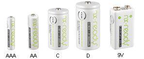 Batterie ricaricabili generiche