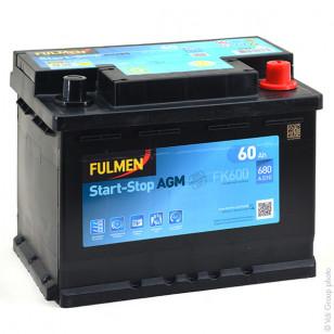 Batteria Avviamento Start and Stop FK600 12V 60Ah 680A - BPA7099