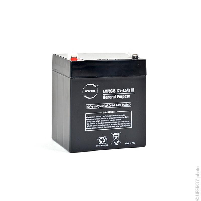 Batteria AGM 12V 4.5Ah F4.8 - AMP9036