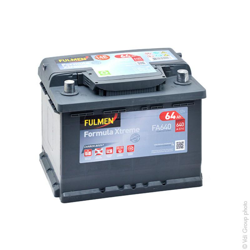 Batteria Avviamento FA640 12V 64Ah 640A - BPA7004