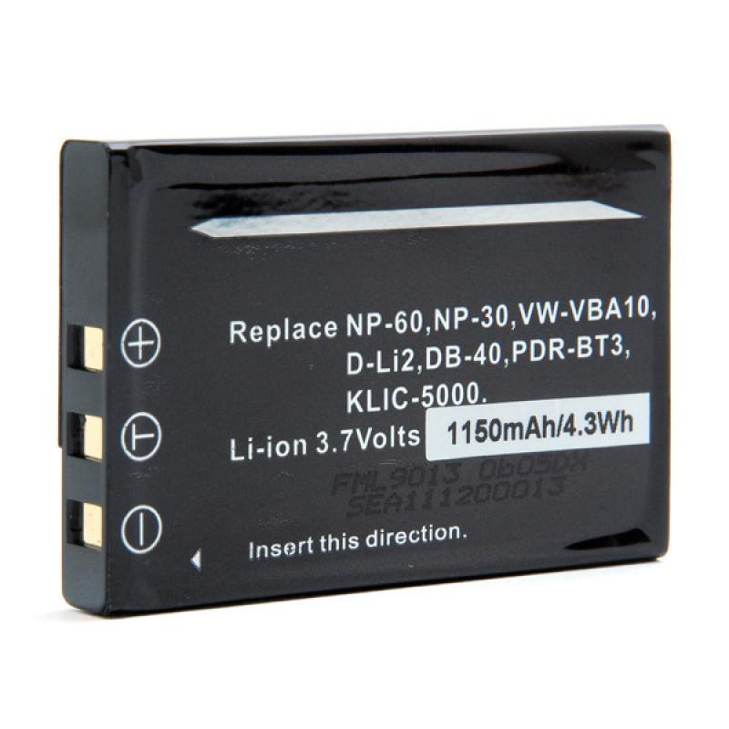 Batteria foto/video 3.7V 1100mAh - FML9013