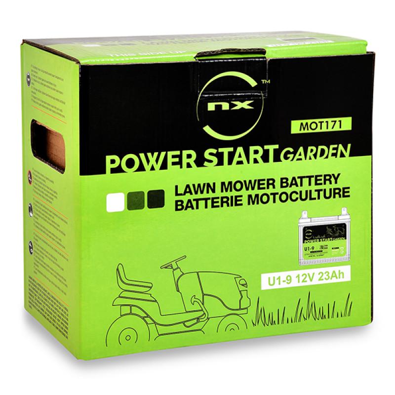 Batterie per motocoltivatori U1-9 / U1-L9 / NH1222L 12V 23Ah - MOT171