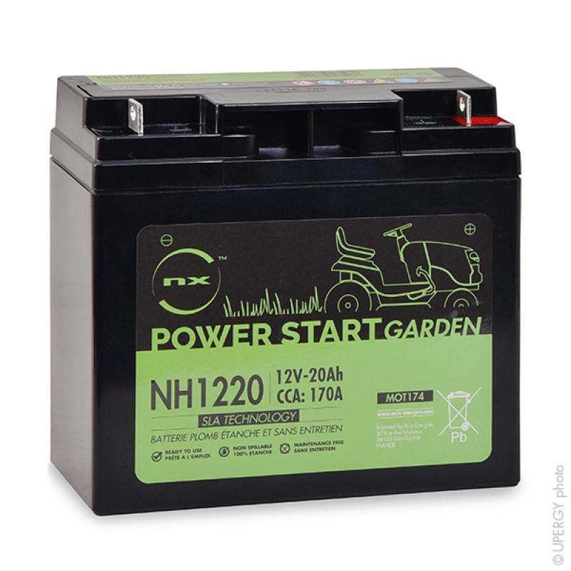 Batterie per motocoltivatori NH1220 / NH1218 12V 20Ah  - MOT174