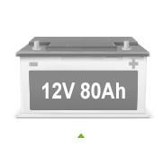 Batterie auto 80ah